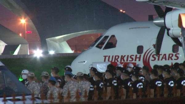 Şehit Hasan Cevherin naaşı İstanbula getirildi