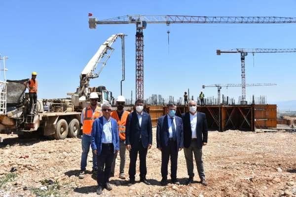 Şehzadelerde TOKİ inşaatı başladı