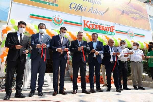 Tarım Kredi Kooperatif Marketin 365. şubesi Adanada açıldı