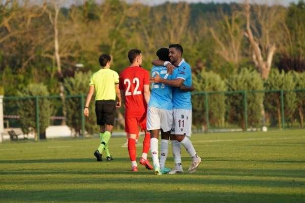 Trabzonspordan bol gollü prova