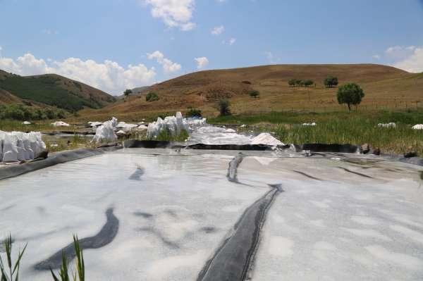 Tunceliden dünyaya ihraç edilen tuzun üretimi, kuraklık nedeniyle yüzde 50 düştü