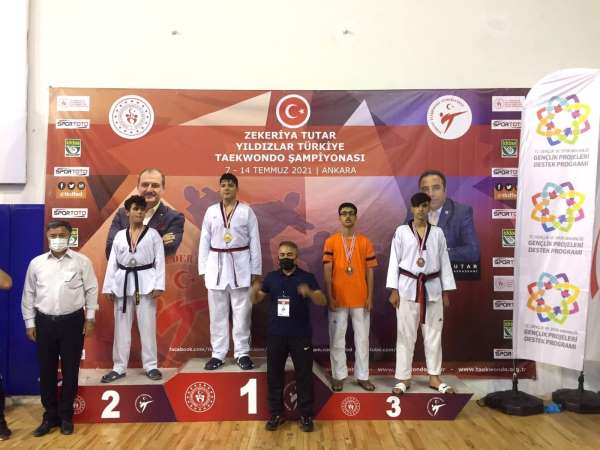 Türkiye Taekwondo Şampiyonasında Elazığlı sporcu 3üncü oldu