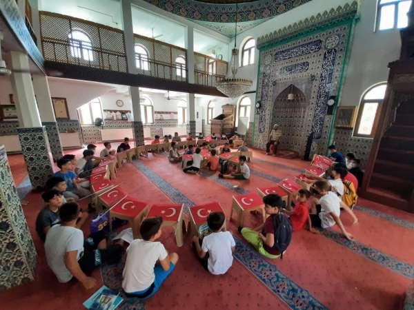 Yaz Kuran kursu öğrencileri, 15 Temmuz Şehitlerini andı