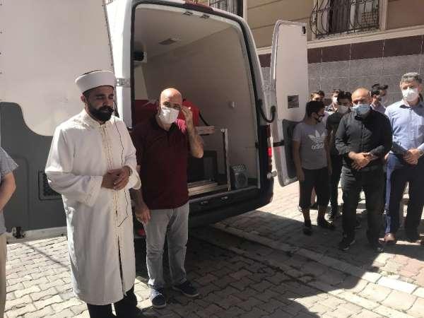 Şehit Polis Memuru Çetinkolun cenazesi helallik için evine getirildi