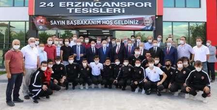Yıldırım'dan TFF 2. Lig'e yükselen 24Erzincanspor'a ziyaret