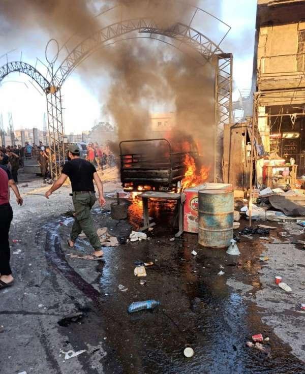 Afrin'deki bombalı saldırıda ölü sayısı 3'e, yaralı sayısı 14'e yükseldi