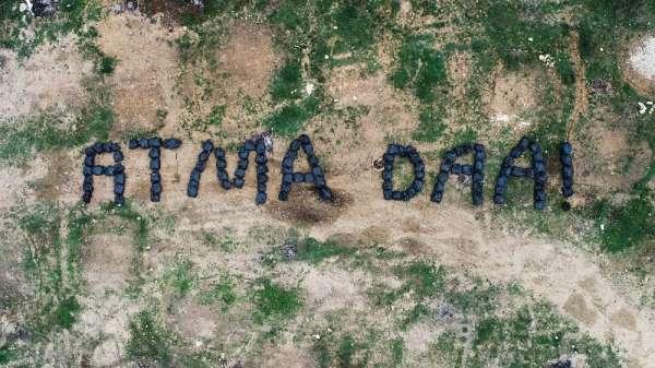 Çevreyi kirletenlere Karadeniz şivesiyle sitem: 'Atma daa'