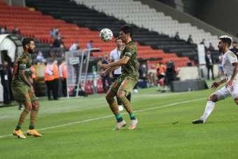 Süper Lig: Hatayspor: 1 - Başakşehir: 0 (İlk yarı)