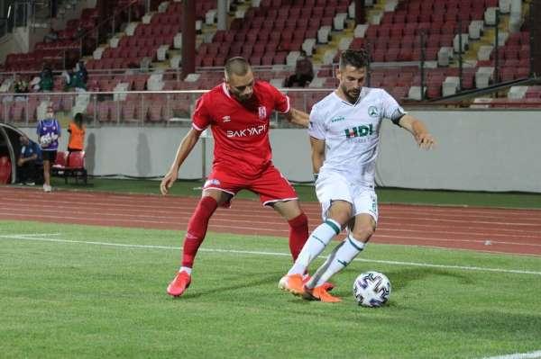 TFF 1. Lig: Balıkesirspor: 1 - Giresunspor: 0 (İlk yarı sonucu)