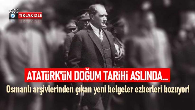 Atatürkün doğum tarihi aslında...