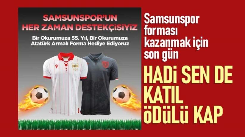 Yılport Samsunspor forma çekilişi sonuçları yarın belli oluyor