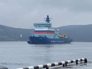 'Arktika' nükleer buzkıran gemisi Murmansk'ta kayıtlı bulunduğu limana ulaştı
