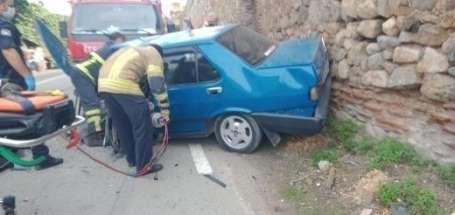 Bursa'da kazada can pazarı: 2 yaralı