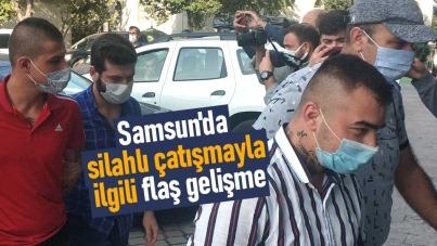 Samsun'da silahlı çatışmayla ilgili flaş gelişme