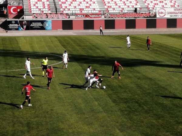 TFF 2. Lig: Vanspor FK: 1 - Sakaryaspor: 0