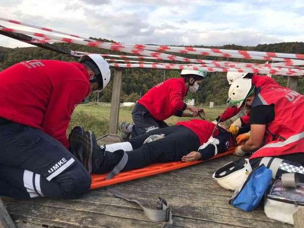 UMKE ekipleri olası kaza ve afetlere hazır