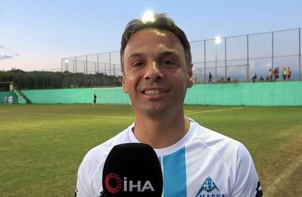 Maçka Belediye Başkanı Koray Koçhan: 'Futbol güzel, şahane ama dostluk daha şaha