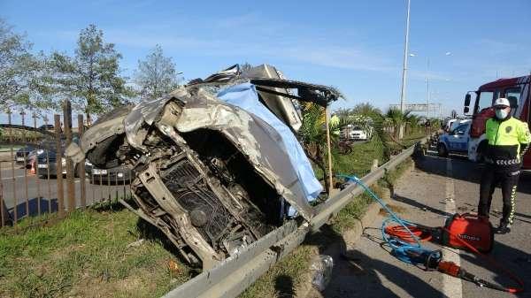 Trabzon'da meydana gelen kazada ölen ve yaralananların isimleri belli oldu