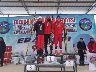 2019 Oryantiring Türkiye Şampiyonası Şenakaya'da yapıldı