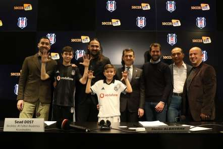 Beşiktaş'tan geleceğin sporcularına yatırım
