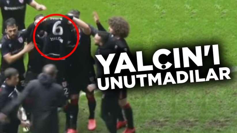 Samsunspor futbolcuları Yalçın'ı Unutmadılar