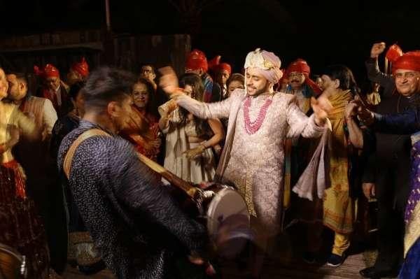 Antalya'da 3 gün 3 gece süren masalsı Hint düğünü
