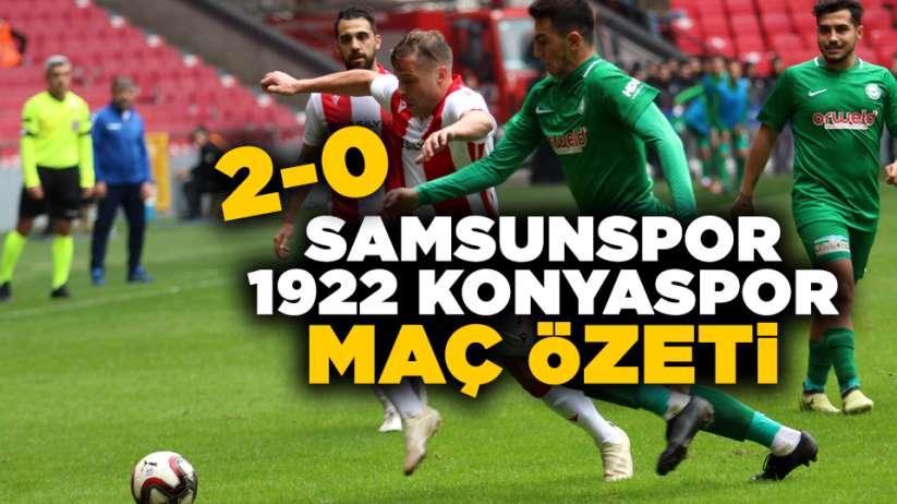 Samsunspor 1922 Konyaspor maç özeti