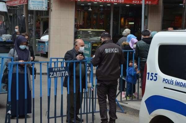 Fatsada işlek caddelerde HES kodu uygulaması
