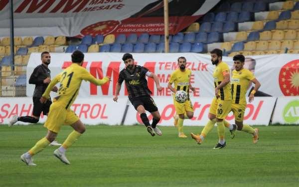 TFF 1. Lig: Menemenspor: 1 - İstanbulspor: 2