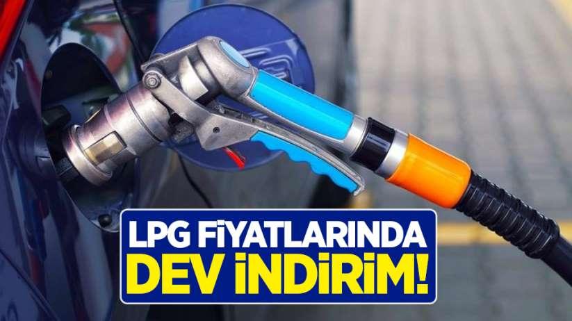 LPG fiyatında dev indirim!