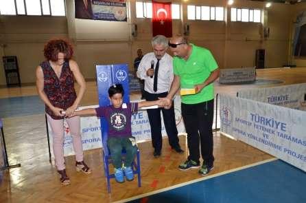 Adana'da 31 bin öğrenci sportif yetenek taramasından geçti