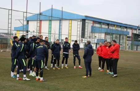 Amed Sportif Faaliyetler'de Uşak maçı hazırlıkları
