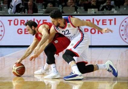 TBF Erkekler Türkiye Kupası: Anadolu Efes: 73 - Gaziantep Basketbol: 59