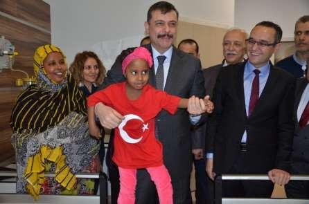 Cibutili çocuklar, Türkiye'de şifa buldu