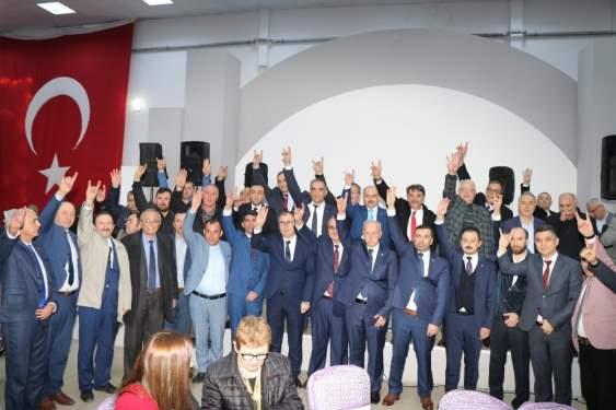 Kavak'ta Cumhur İttifakı'nın '50.yıl' kardeşliği