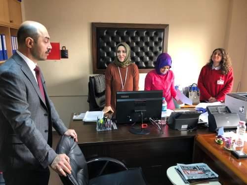 Ali Kılıç'tan Terme Belediyesi personeline güvence