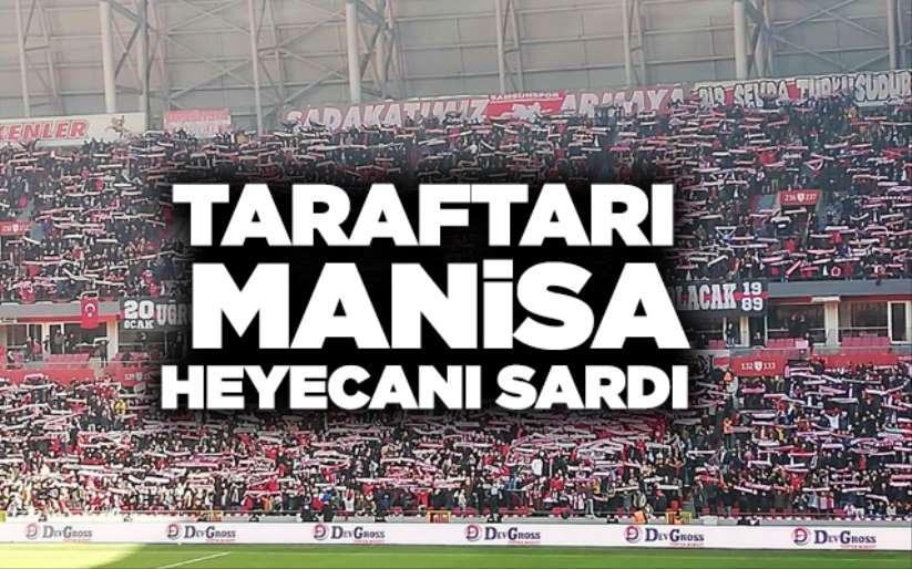 Samsunspor taraftarını Manisa heyecanı sardı