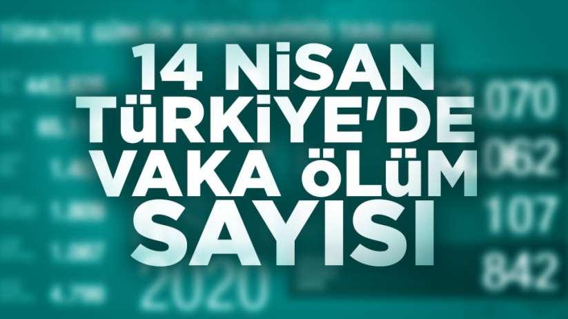 14 Nisan Türkiye'de vaka ölüm sayısı