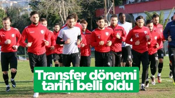 Transfer dönemi 17 Haziran'da başlıyor
