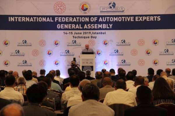 19 ülkeden otomobil eksperleri İstanbul'da buluştu