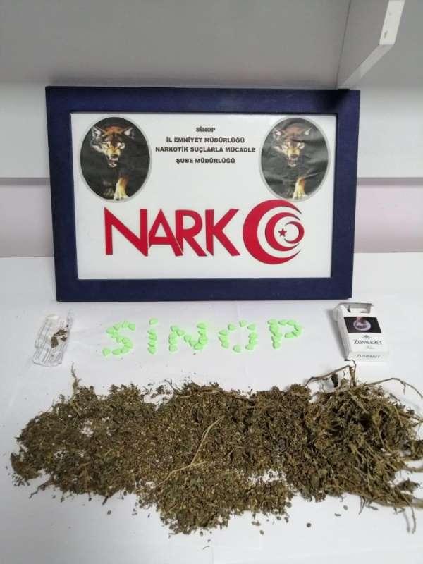 Sinop'ta uyuşturucu operasyonu: 3 gözaltı