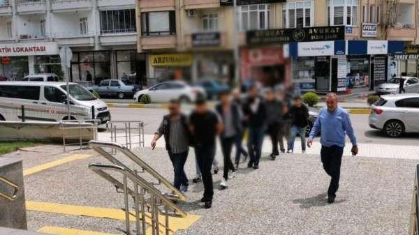 Çorum'daki uyuşturucu operasyonuna 4 tutuklama