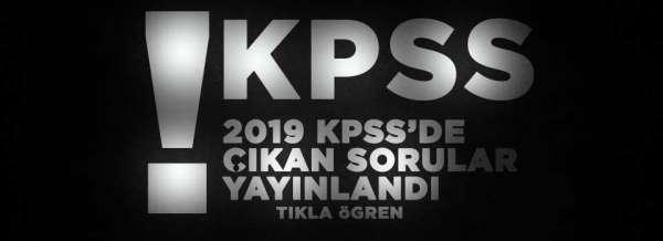 Son dakika! 2019 KPSS'de çıkan sorular yayınlandı!