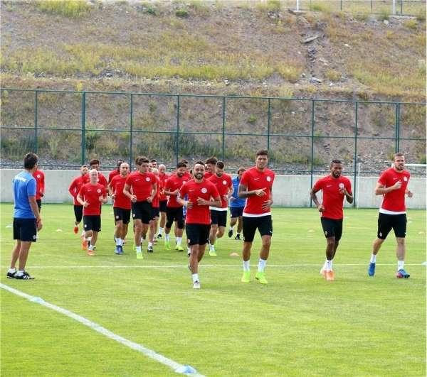 Antalyaspor sezon hazırlıklarını sürdürüyor