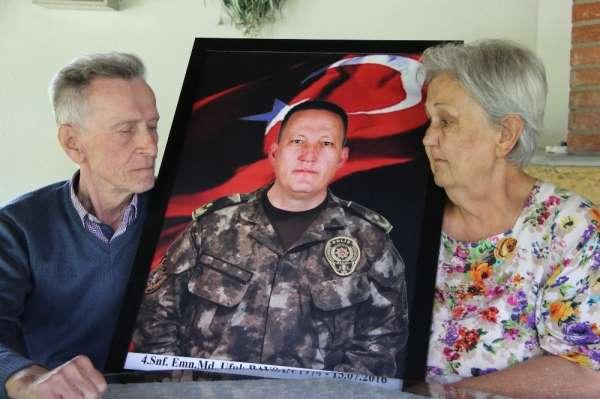 15 Temmuz'da şehit olan emniyet müdürünün baba ocağında acısı halen yaşanıyor