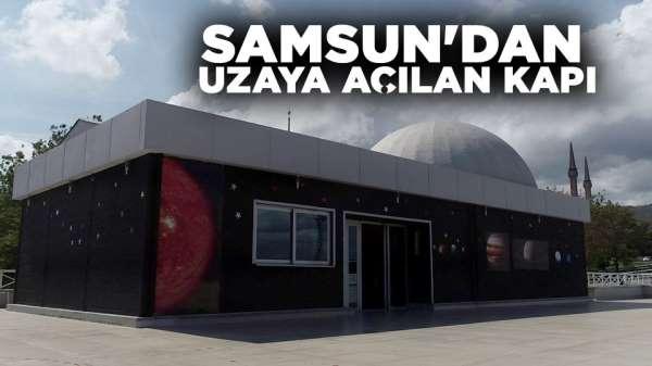 Samsun'dan uzaya açılan kapı
