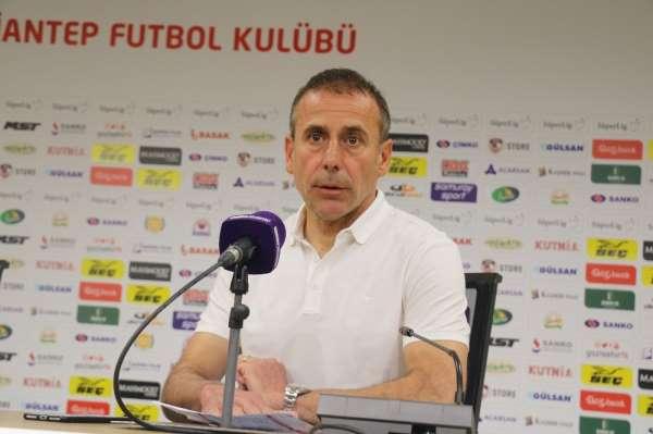 Abdullah Avcı: '95 dakika eşit oynayamadık'