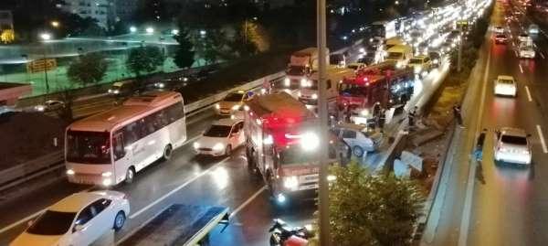 Kazaya karışan otomobil sürücüsünün kaçtığı tespit edildi