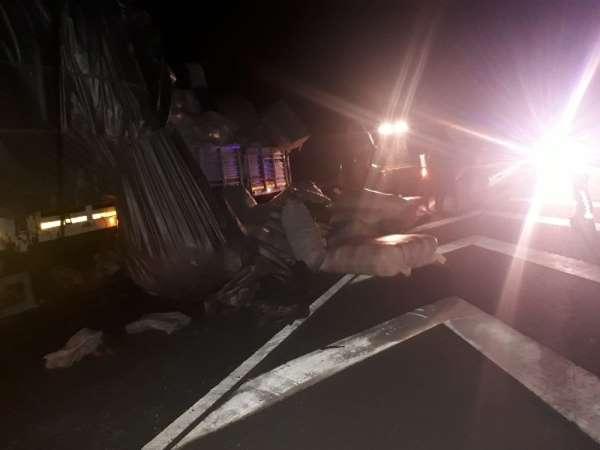 Trafik ekiplerinin dikkati olası bir kazayı önledi