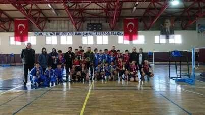 Okullar arası Yıldız Erkek Badminton İl Birinciliği tamamlandı